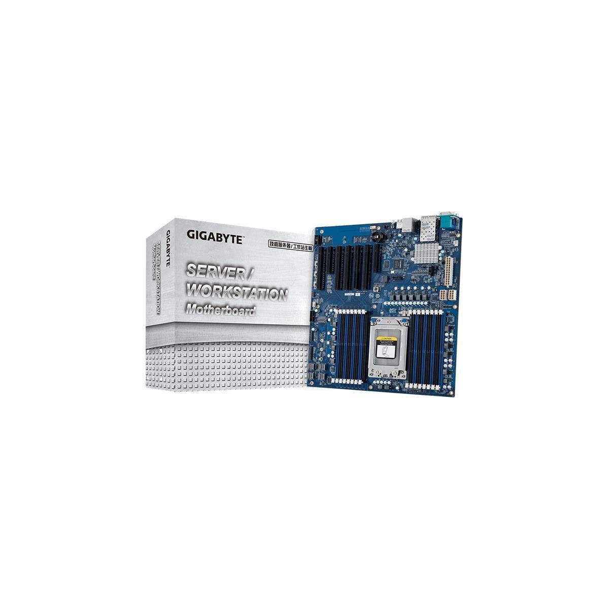 Gigabyte MZ31 AMD EPYC 7000 Motherboard Rocks 16 DIMM Slots, Tons Of