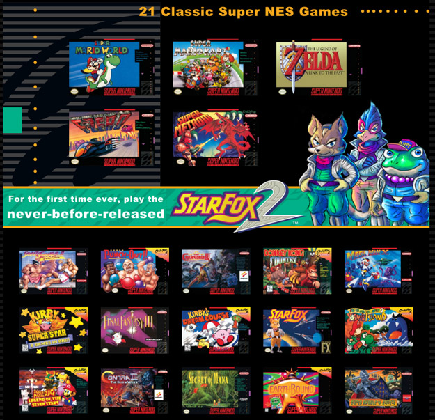 Nintendo Says SNES Classic Production Will Significantly