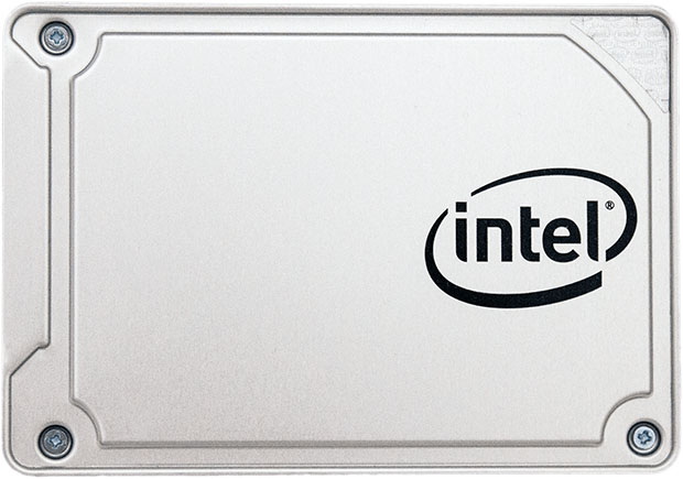 Intel SSD 545s Front Facing