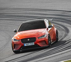 Jaguar's XE SV Project 8 Is A 592-Horsepower 4 Door Hell Chariot