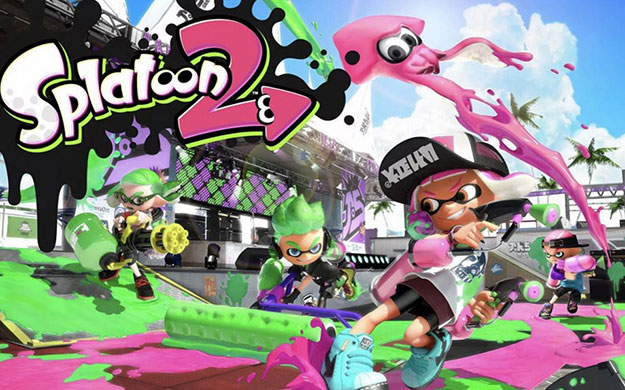 Splatoon 2 Cover Art 625x390px