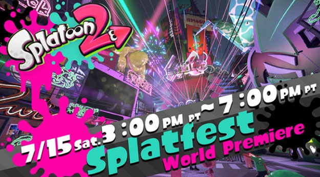 Splatoon 2 Splatfest Schedule And Time 625x346px