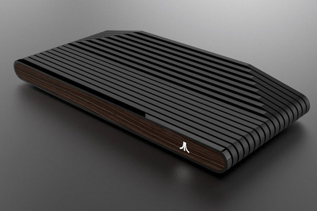 Ataribox console, front view