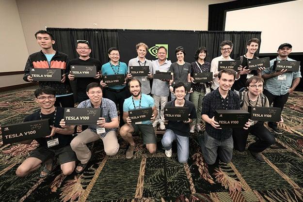 NVIDiA Tesla V100 and AI Researchers