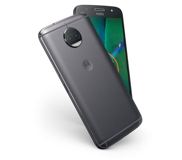 MotoG5SPlus NFC LunarGray Design