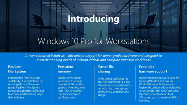 windows 10 workstation