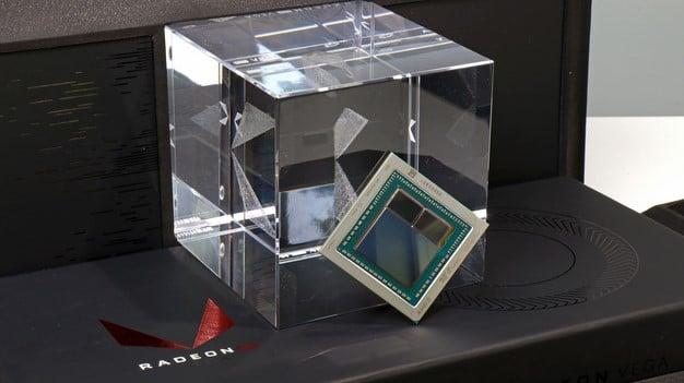 Radeon RX Vega Cube and GPU Chip