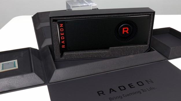 Radeon RX Vega Press Kit Box Not Retail