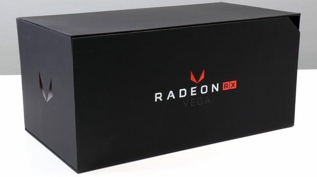 Radeon RX Vega Press Box