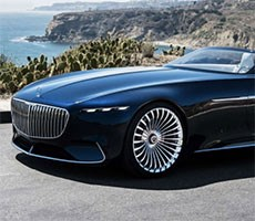 Mercedes-Maybach 6 Cabriolet Concept EV Delivers Scintillating Shock And Awe At Pebble Beach