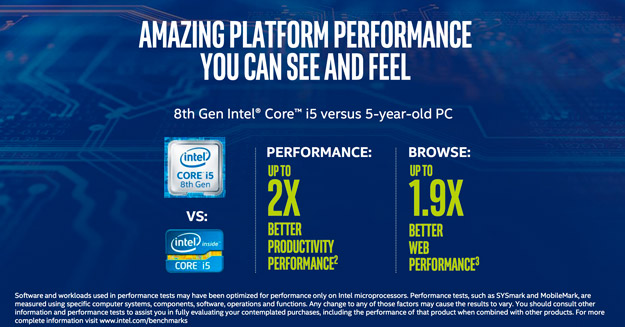 intel 8thgen benchmarks 2