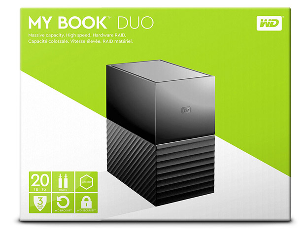my book duo 20tb