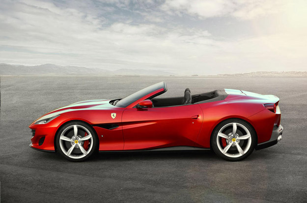 Ferrari\u0027s Portofino Is A Drop Dead Gorgeous GT Convertible