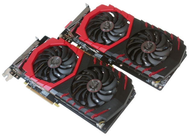 MSI Radeon RX 580 and 570 Gaming X