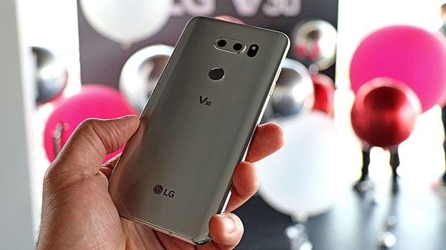 LG V30 Back