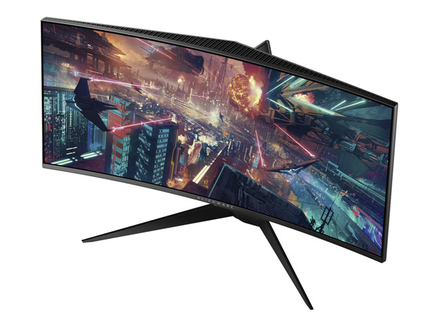 Alienware Unveils Two 34-inch Curved High Speed Gaming