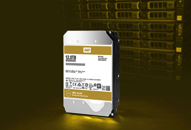 WD 12TB Gold Hard Drive