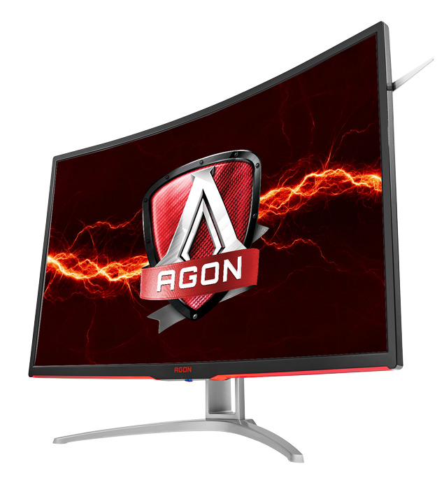 AOC Unveils AGON 32-inch 144Hz Curved Gaming Monitor With