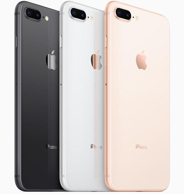 iPhone8Plus color selection