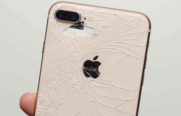 iPhone 8 Cracked