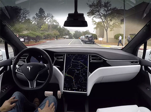 Tesla Infotainment Display