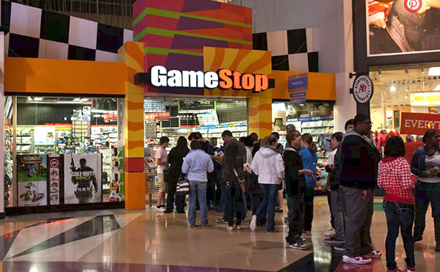 Game Stop With Line