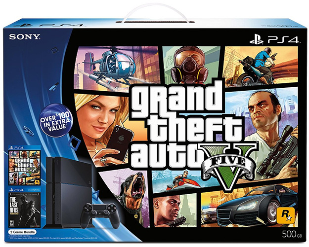 GTAV PS4 Bundle