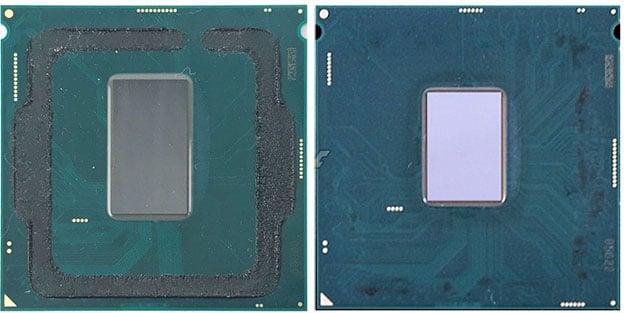 Intel Core i7-8700K and Core i7-7700K