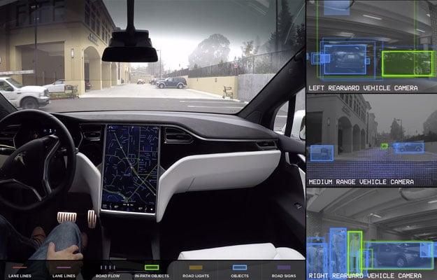 Tesla Autonomous