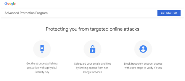 google advanced protection