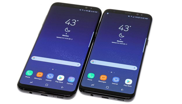 Galaxy S8 And S8 Plus Front bottom