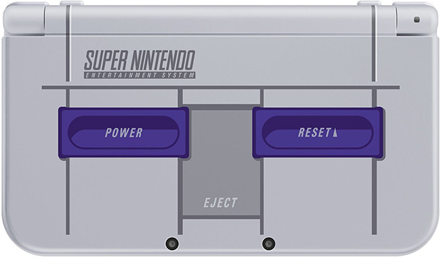 Nintendo 3DS XL SNES Closed