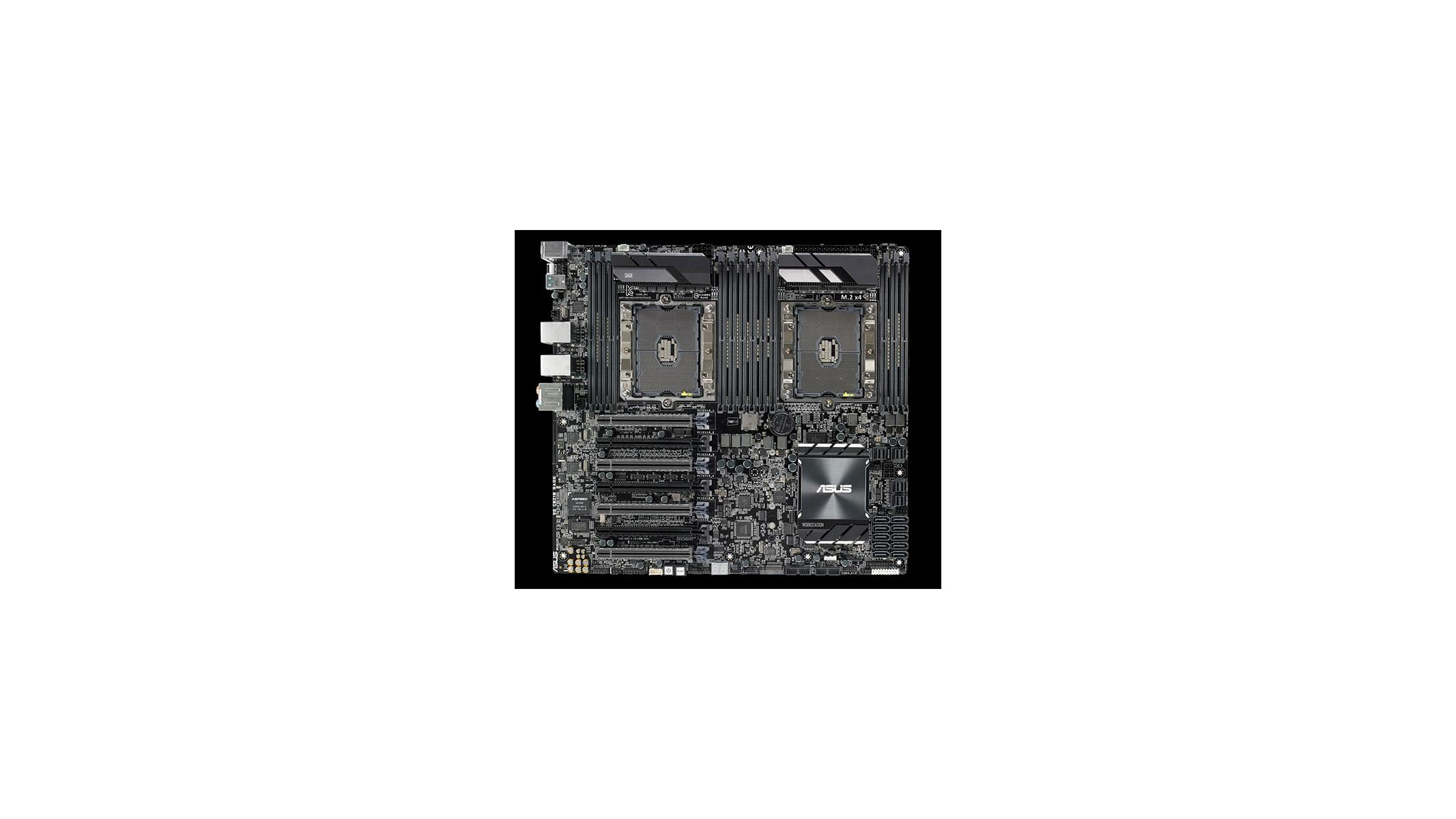 ASUS Unveils Beastly WS C621E SAGE Dual Xeon Workstation
