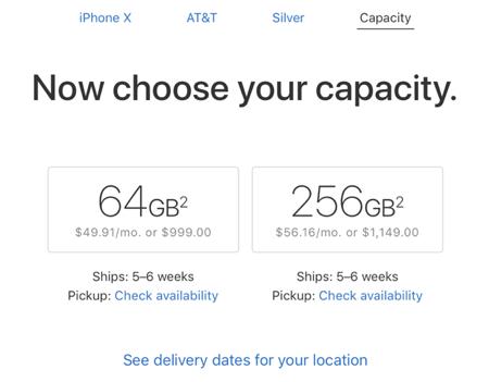 iphone x apple store 2