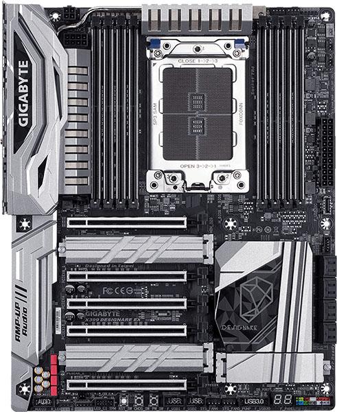 Gigabyte DESIGNAIRE EX Motherboard Flat