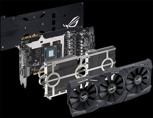ASUS ROG Strix GeForce GTX 1070 Ti