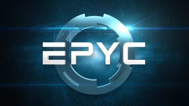 AMD EPYC Server Chip Logo