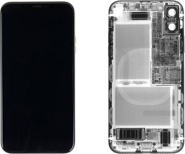 iPhone X X-Ray