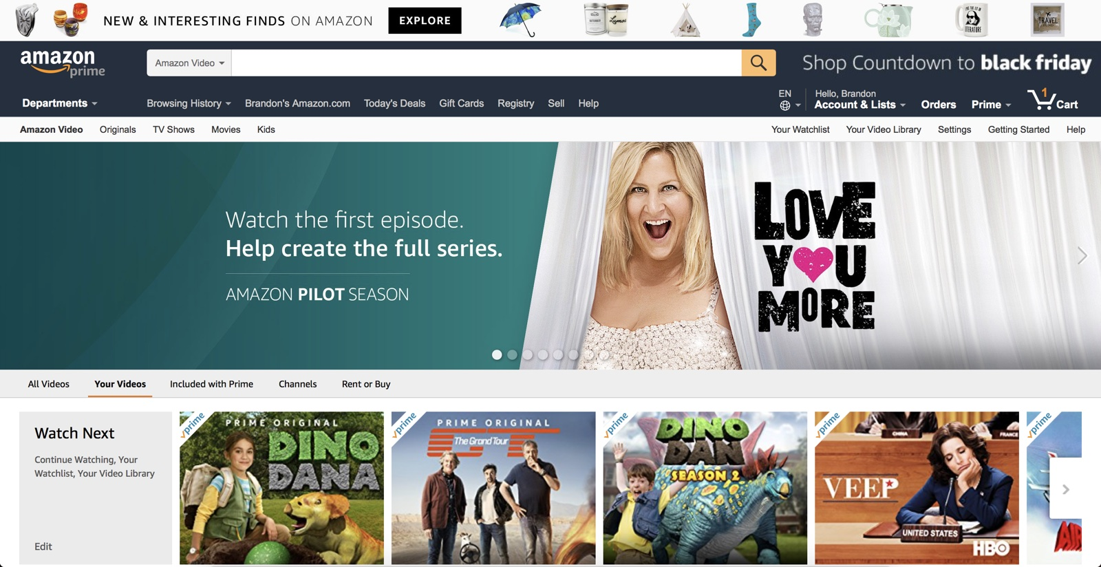 Amazon Prepping Free Version Of Prime Video Supported By Ads: Report