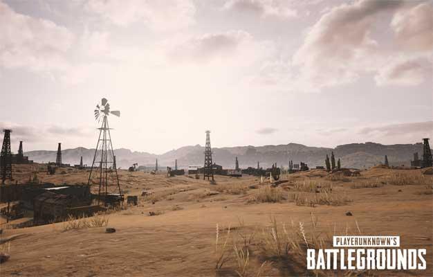 playerunknowns battlegrounds nvidia desert map screenshot 002