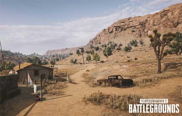 playerunknowns battlegrounds nvidia desert map screenshot 003