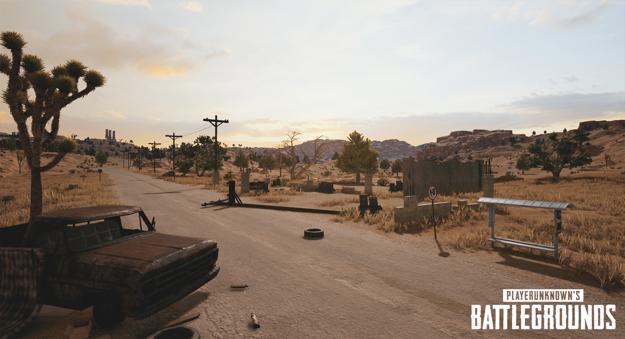 playerunknowns battlegrounds nvidia desert map screenshot 004