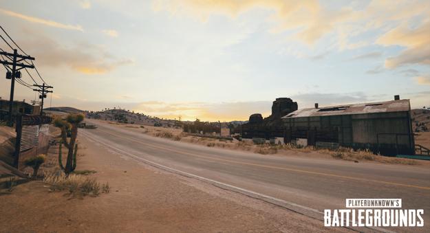playerunknowns battlegrounds nvidia desert map screenshot 005