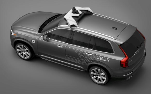 volvo uber xc90 2