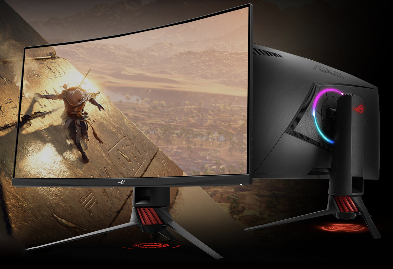 ASUS Unwraps ROG Strix XG32VQ And XG35VQ Curved Gaming Monitors With AMD FreeSync