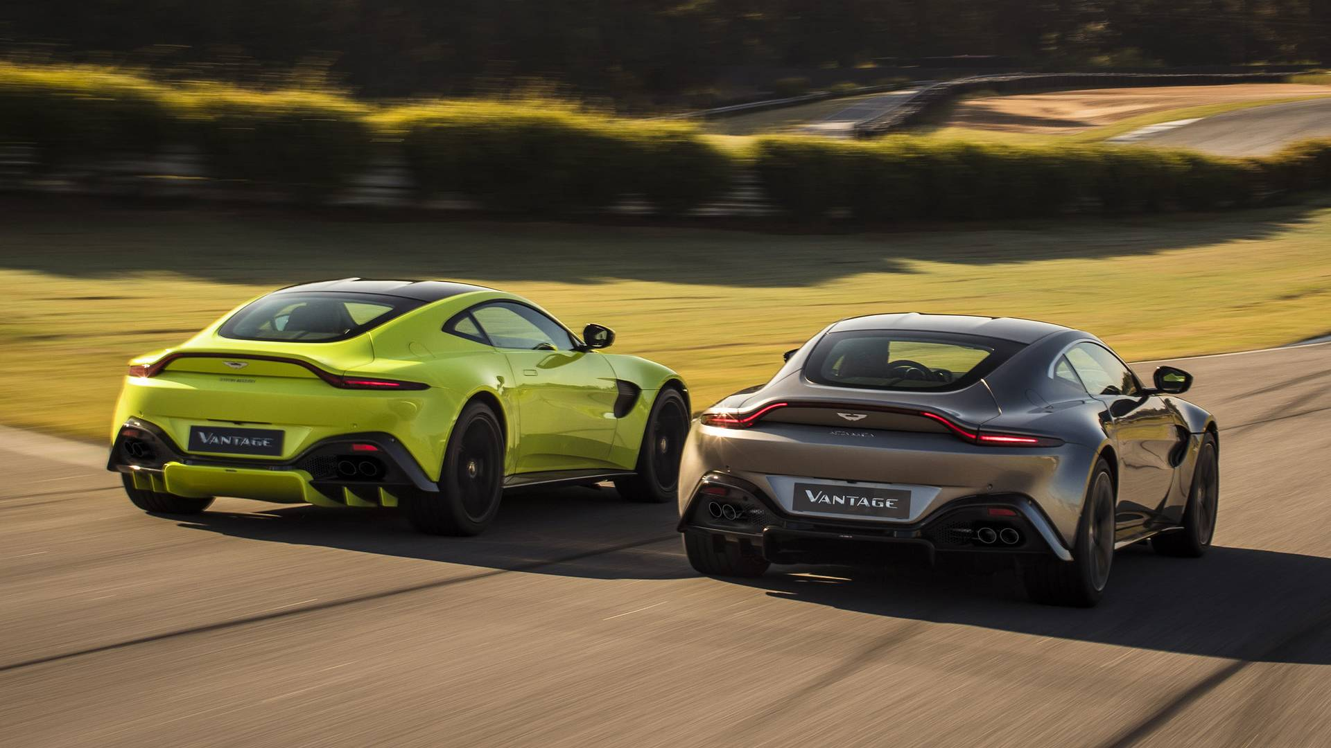 Aston Martin's 2018 Vantage Is A Sultry 503HP Sports Car With 007's License To Kill