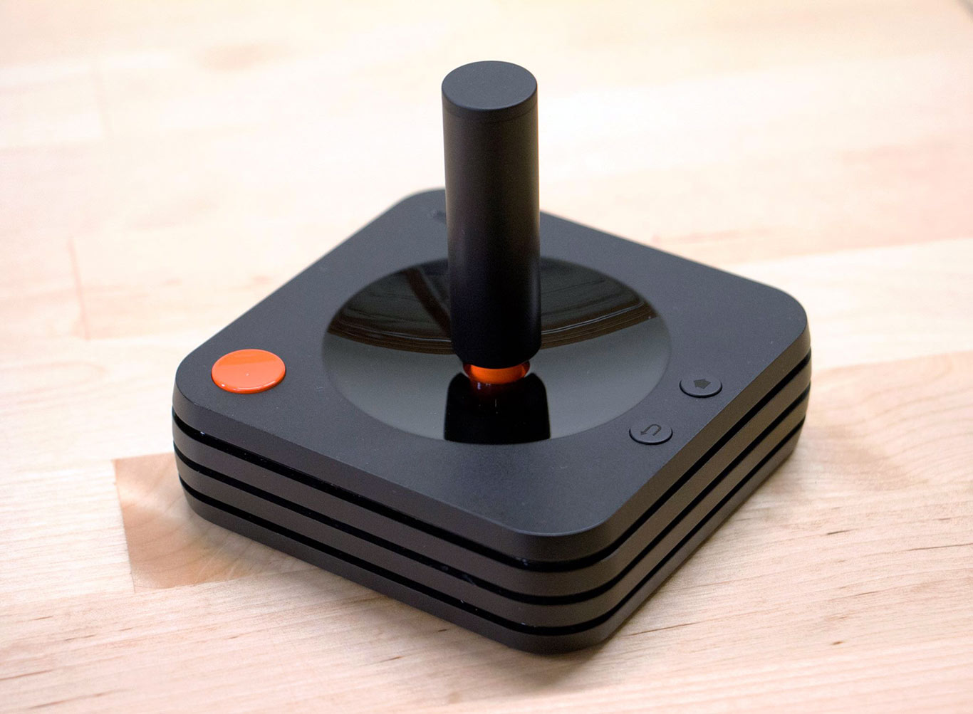 Ataribox Joystick Breaks Cover And It's As Beautifully Retro As You'd Expect