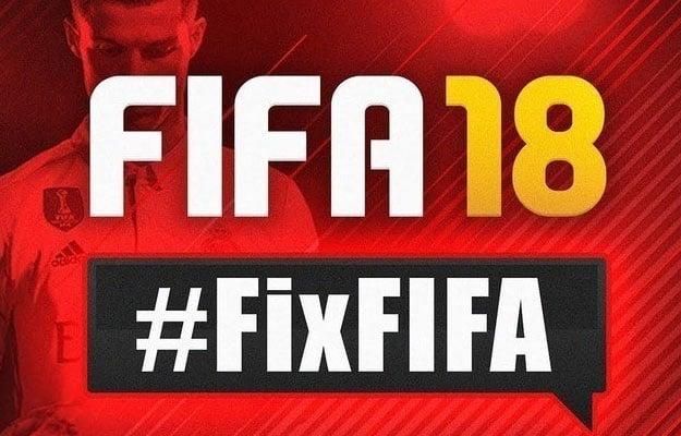 FIFA 18 #FixFIFA