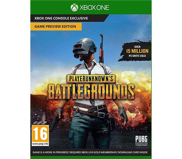 Xbox One Box Art PlayerUnknown's Battle...