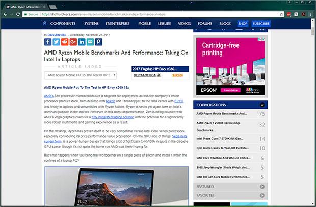 HotHardware Chrome